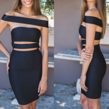 HOT FASHION OFF SHOULDER CUTE DRESS