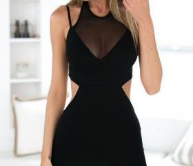HOT CUTE FASHION SHOW BODY SEXY DRESS