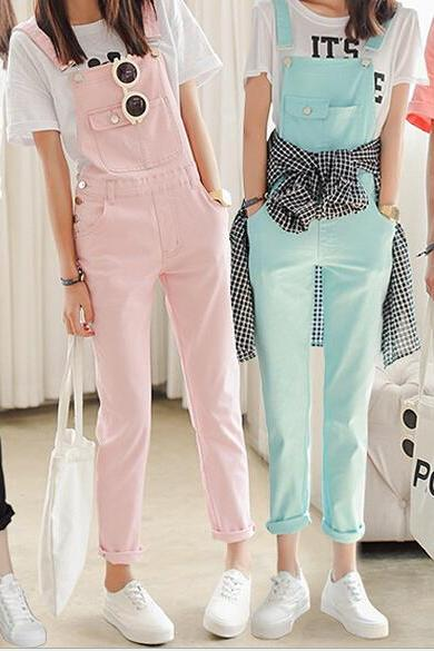 Hot button fashion jumpsuit