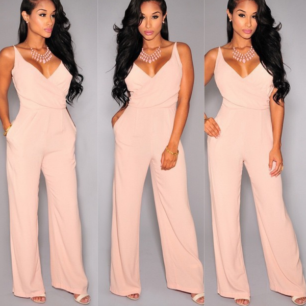 HOT CUTE STRAPS JUMPSUIT